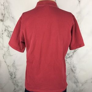 Burberry Shirts - Vintage Burberry London Maroon Polo Shirt
